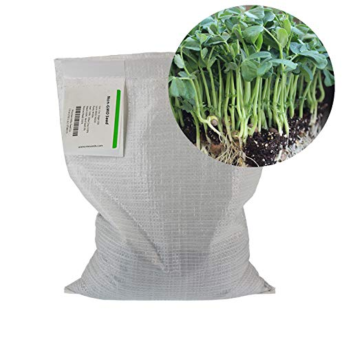 Speckled Pea Sprouting Seeds - 25 Lbs Bulk - Certified Organic, Non-GMO Green Pea Sprout Seeds - Sprouts & Microgreens by Mountain Valley Seed Company (Image #1)
