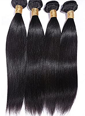 Goood Hair 7a Peruvian Virgin Hair Straight Human Hair Extensions 4pcs/lots 50g/ps Total 200g
