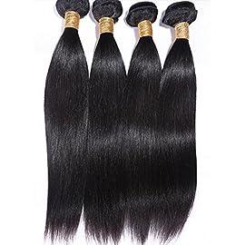 Goood Hair 7a Peruvian Virgin Hair Straight Human Hair Extensions 4pcs/lots 50g/ps Total 200g