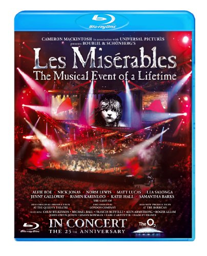 les mis 25th anniversary blu ray