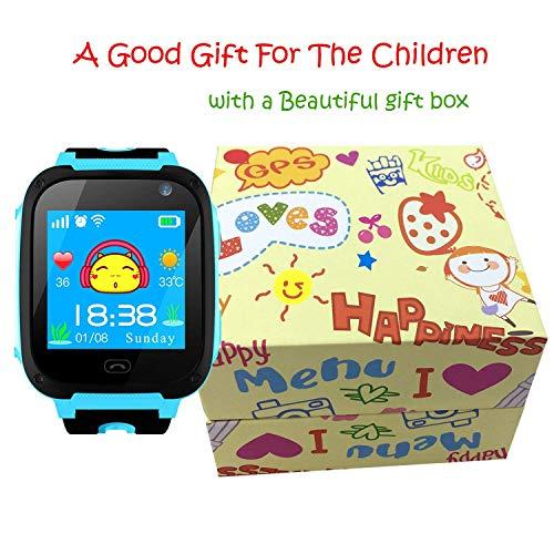 Niños Inteligente Relojes,GPS Tracker para Niños con cámara de ...