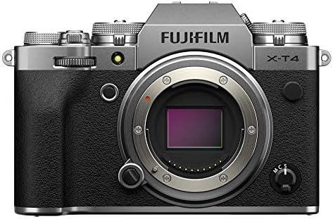 Fujifilm X-T4 Mirrorless Camera Body – Silver