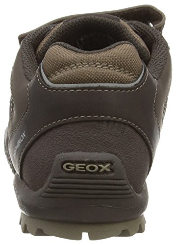 Geox Jr Savage B ABX - Zapatillas de Deporte Para Niño COFFEE/BEIGE