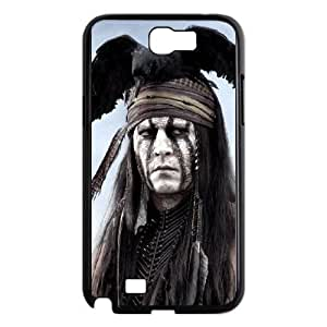 Samsung Galaxy Note 2 7100 Black Cell Phone Case Lone ranger LWDZLW2373 Phone Case Cover Durable Unique