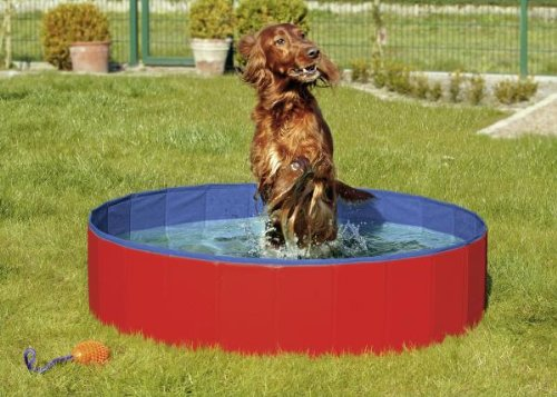 Karlie Flamingo 31809 Doggy Pool Cover, rot Diameter 160 cm