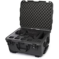 Nanuk DJI Drone Waterproof Hard Case with Wheels and Custom Foam Insert for DJI Phantom 4/ Phantom 4 Pro (Pro+) / Advanced (Advanced+) & Phantom 3 - 950-DJI47 Graphite