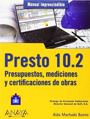 Leer libro presto 10 2 presupuestos mediciones y - Presupuestos de obras ...