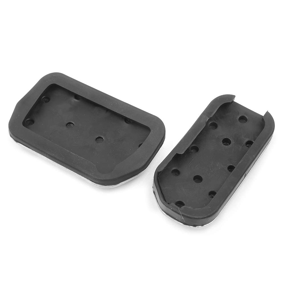 Automatic Transmission LIUYE No Drill Anti-Slip Gas Brake Pedal Cover for Toyota RAV4 2014-2018