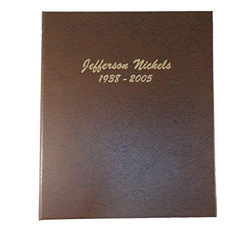 Dansco 7113 Jefferson Nickels Coin Album 1938 - 2005 (Album Nickel)