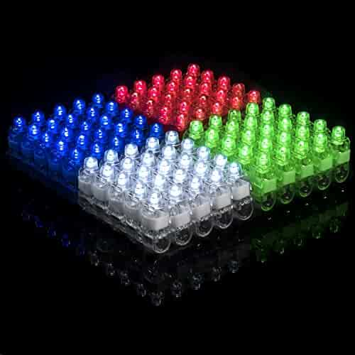 Light Up Rings LED Finger Lights 100pk – Glow Rings Bulk Party Favors for Kids, Glow in The Dark Party Supplies, Halloween Lights and Rave Accessories