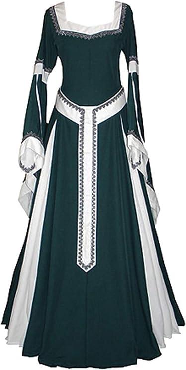 HS-ZM-06 Vestido De Las Señoras De Las Mujeres Vestido De Época ...