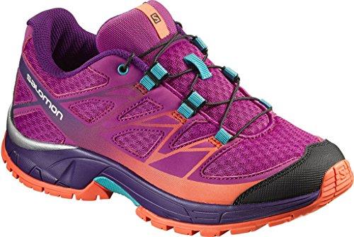 Salomon Jungen L39056400 Trail Runnins Sneakers Violett