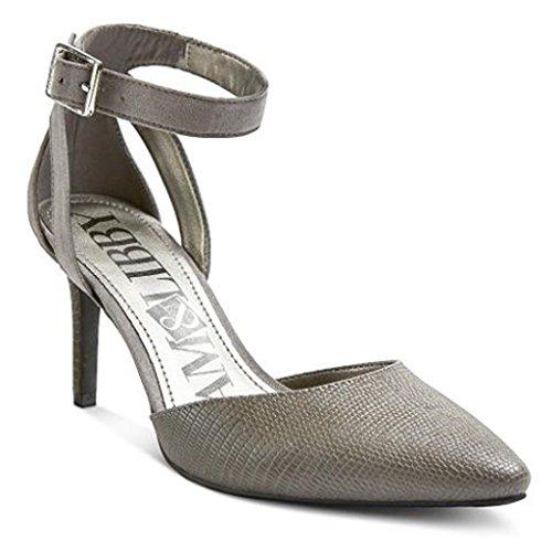 Sam & Libby Women's Orianna Pewter Pumps (7.5) - Pewter High Heels: Amazon.com