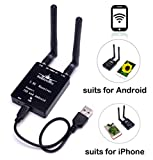 #4: Readytosky 151CH 5.8Ghz FPV Receiver AV Signal Wifi Transmission Receiver for Iphone Ipad& Android Smartphones Tablets