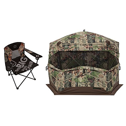 Barronett Blinds Big Blind Folding Chair + Big Ox 5 for sale  Delivered anywhere in USA