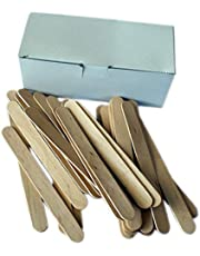EpilWax Pack van 100 Spatels voor Haarverwijdering - Professionele kwaliteit Hout Waxing Spatels