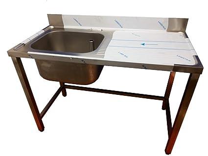 Fregadero de cocina, especial hosteleria con hueco lavavajillas ...