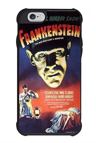 Frankenstein Vintage Horror Movie Poster Phone Case Design For iPhone 4 /...
