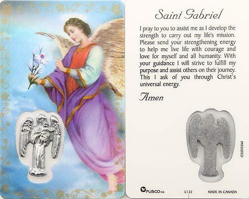 Prayer Card Saint Gabriel
