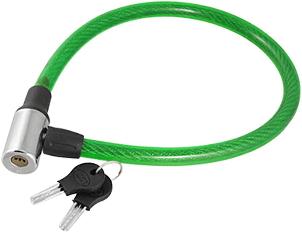 Aexit Protector de cable de alambre de acero cubierto de plástico ...