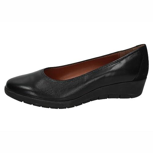 NOELIA ZAPATO14 Mocasines DE Piel Mujer Zapatos MOCASÍN Negro 37: Amazon.es: Zapatos y complementos