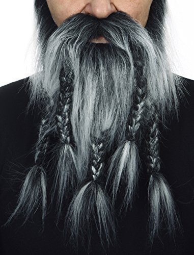 [Viking, dwarf salt and pepper beard] (Mustaches And Beards)