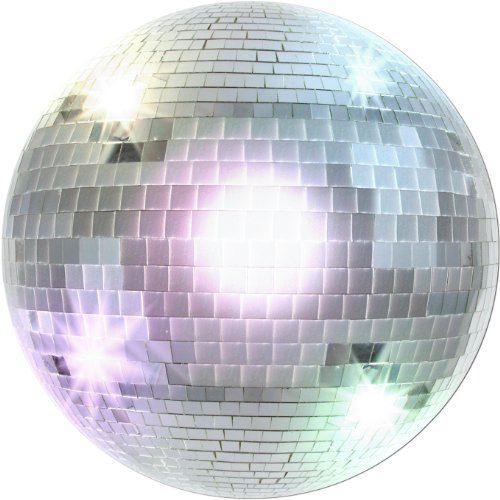 Disco Ball Cutout Party Accessory (1 count) ()