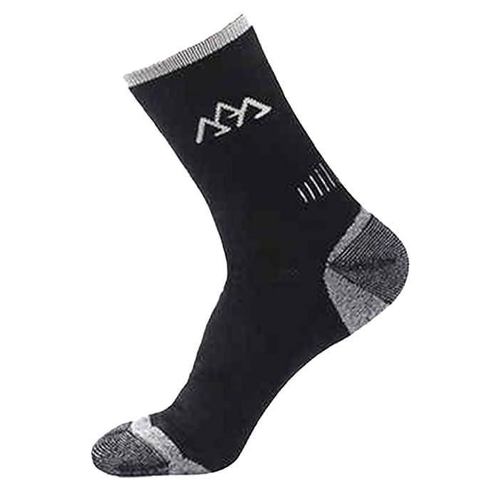 snfgoij Calcetines De Senderismo De Verano Para Hombres Calcetines De Deportes De Secado Rápido 3 Pares