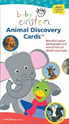 Baby Einstein: Animal Discovery Cards : Beautiful Nature Photographs and Animal Facts to Delight Your Baby by Aigner-Clark, Julie (2003) Cards