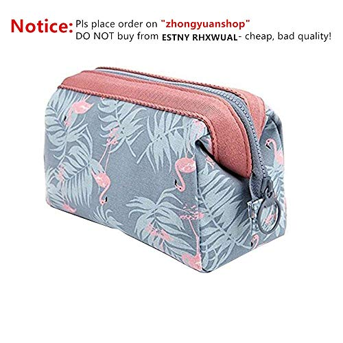 8e0fe251 Makeup Bag Travel Cosmetic Bags Toiletry Wash Bag Portable Travel Make Up  Case Pouch for Women
