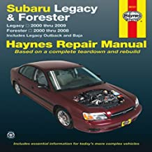 By Editors of Haynes Manuals - Subaru Legacy & Forester: Legacy 2000 thru 2009 - Forester 2000 thru 2008 - Includes Legacy Outback and Baja (Haynes Manuals)