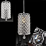 dtemple Crystal Ceiling Light Pendant Lamp Fixture Lighting Chain Chandelier for Living Room Bed Room Dining Room Review