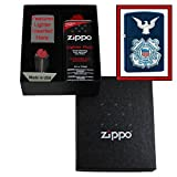 """US Coast Guard Seal with Eagle"" Zippo Lighter Gift Set"