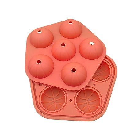 Molde de silicona con forma de balón de baloncesto 3D, para ...