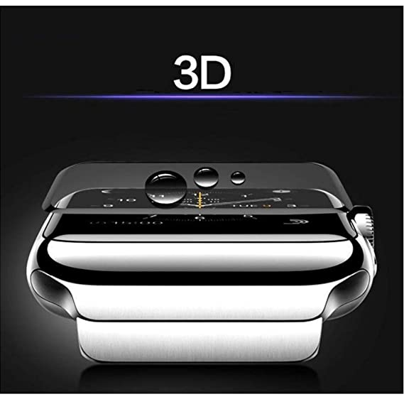 BATOP Apple Watch Screen Protector || Crested Full Tempered Film for Apple Watch Band 42mm