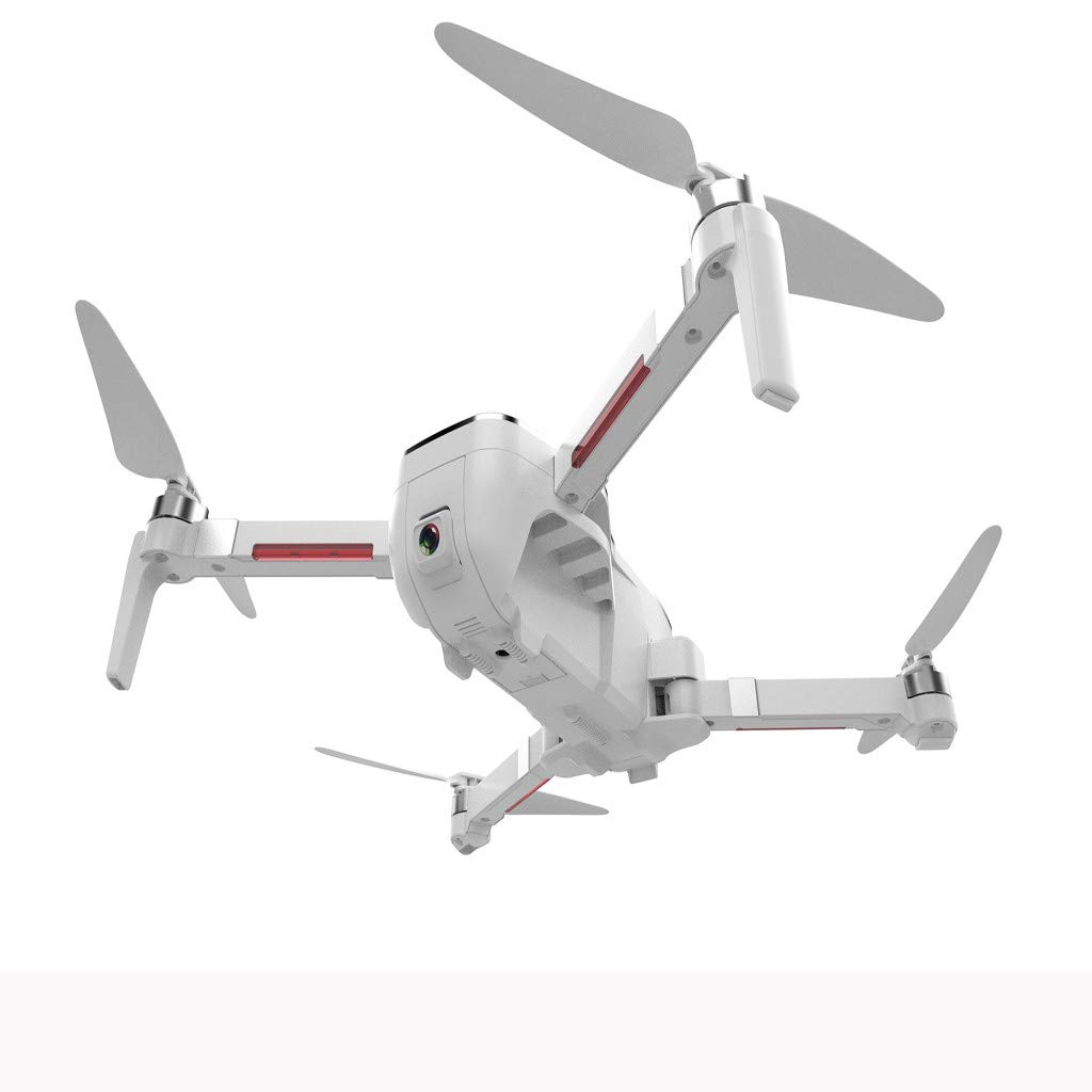 Gallity SCJ-X7 GPS FPV RC Drone with 4K Ultra Clear Camera Brushless Selfie Foldable/Optical Flow Positioning Hover Drone with Adjustable Wide-Angle WiFi Camera Follow Me (White) by Gallity