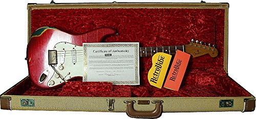 RetroVibe Number 6 Fender Stratocaster '61 Spec Super Relic (Fender Stratocaster Relic compare prices)