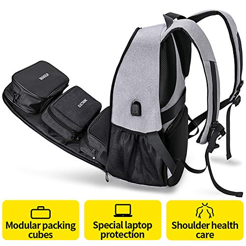 Arungor Laptop Backpack for Men Work Travel College School Computer