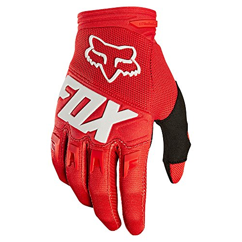 Mx Riding Gloves - 2018 Fox Racing Dirtpaw Race Gloves-Red-L