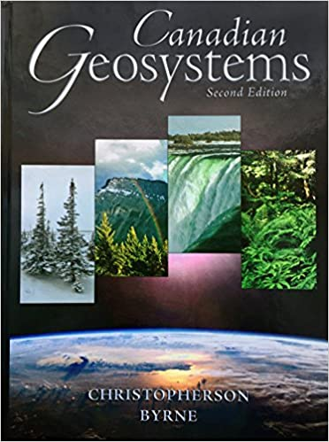 geosystems christopherson 3rd edition canadian