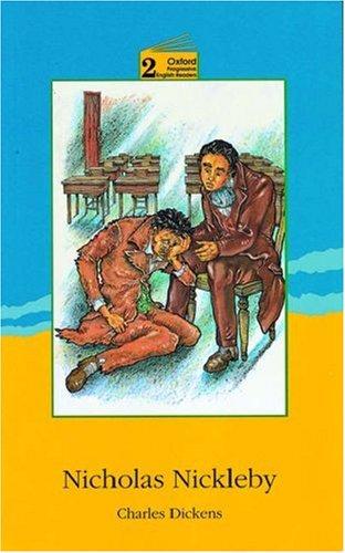 Book cover for Nicholas Nickleby