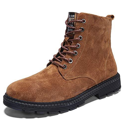 Uomo Uomo YR YR YR Stivali Maschili da da Alti Stivaletti Trekking Brown Boots Stringate Stivali High Scarpe Scarpe Stivali Uomo Tops da Uomo Stivali Lerather R Camping Chelsea da Desert 6r6p7q