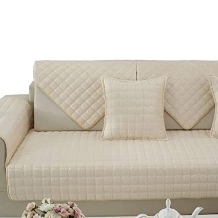 Amazon.com: YXDDG Sofa Covers slipcovers Reversible Quilted ...