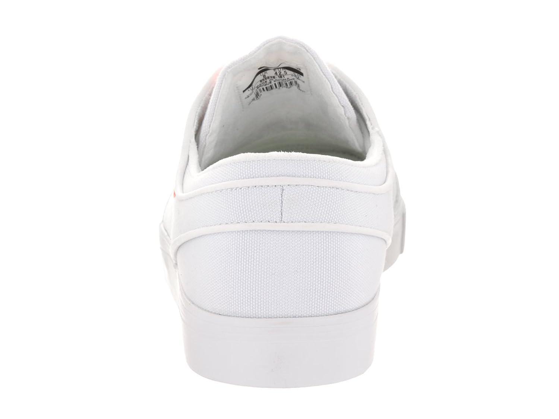 Amazon.com | Nike Unisex SB Zoom Janoski Canvas Cpsl White/Max Orange/White  Skate Shoe 9 Men US/10.5 Women US | Skateboarding