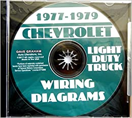1977 1978 1979 chevrolet light truck complete electrical wiring diagrams &  schematics - includes c/k 10-30 series, blazer, suburban, vans multimedia  cd