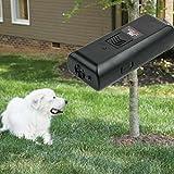 Dog Repeller,OHTOP Ultrasonic Stop Barking Dog Training Repeller Anti Bark Control Trainer Device(Black)