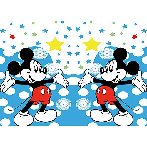 - Mickey Mouse Birthday Backdrops for Party 7x5 Blue Twinkle Stars Photo Background Boy Birthday Banner Customized Vinyl Backdrop Baby Shower