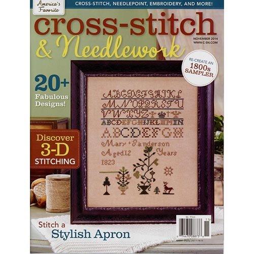 Cross-stitch & Needlework Magazine ( November 2014 )