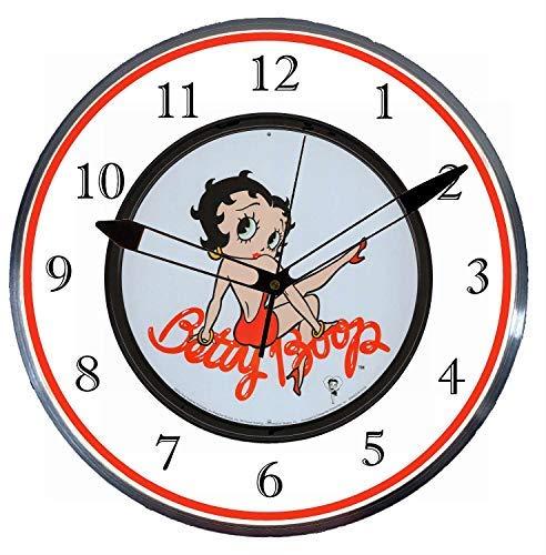 Betty Boop Neon Clock - Checkingtime LLC - 15