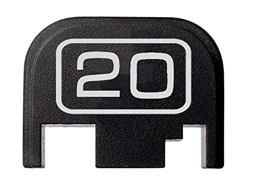 Glock 20 Hunting (FIXXXER Model Series Rear Cover Plate for Glock (20) Fits Most Models (Not G42, G43) and Generations (Not Gen 5))